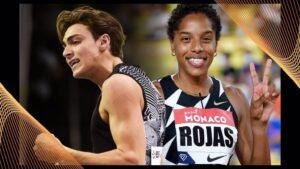 Armand Duplantis y Yulimar Rojas, atletas mundiales del año