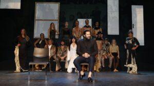 Rafael Amargo durante la rueda de prensa de 'Yerma' en el Teatro La Latina