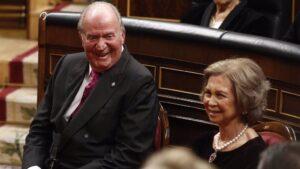 El Rey emerito Don Juan Carlos I y la Reina Sofía