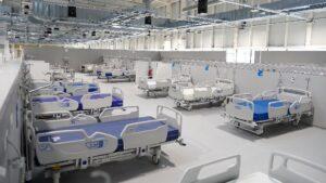 Hospital Enfermera Isabel Zenda, cama de hospital