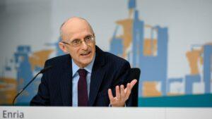 El presidente del Consejo de Supervisión del BCE, Andrea Enria