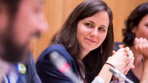 La secretaria de Estado para la Agenda 2030, Ione Belarra,