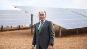 Ignacio Galán, presidente de Iberdrola en Adévalo