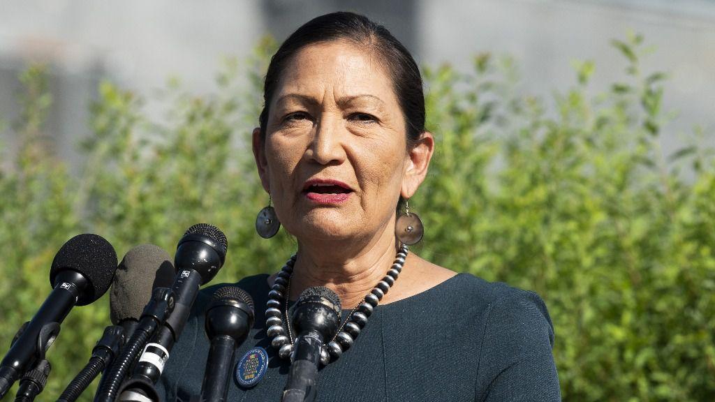 La congresista Deb Haaland