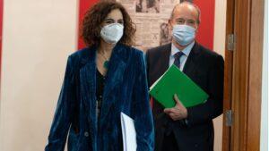 María Jesús Montero y Juan Carlos Campo