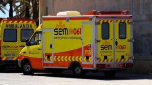 Ambulancias en Cataluña