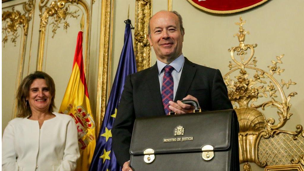 El ministro de Justicia para el Gobierno de coalición de PSOE y Unidas Podemos en la XIV Legislatura, Juan Carlos Campo