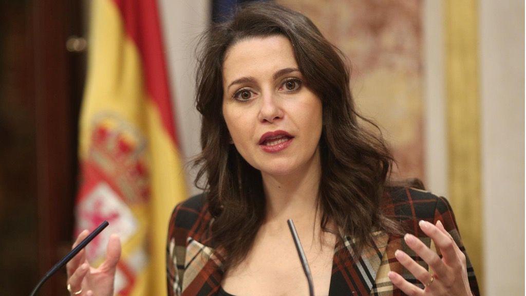 La portavoz parlamentaria de Ciudadanos, Inés Arrimadas