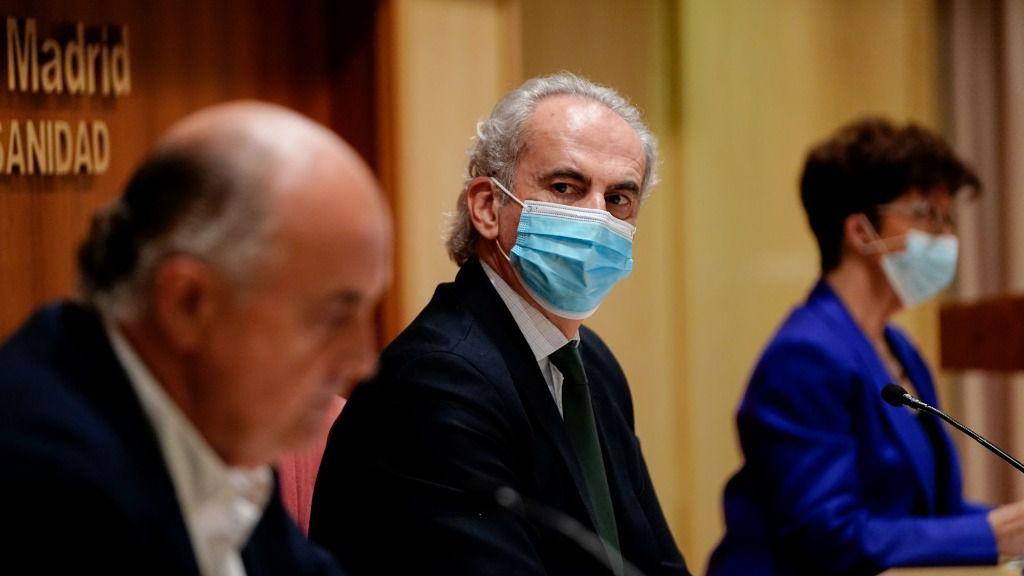 Enrique Ruiz Escudero, Antonio Zapatero y Elena Andradas