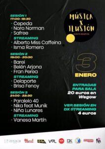 """Cartel del evento 'Música X Ilusión"""""""