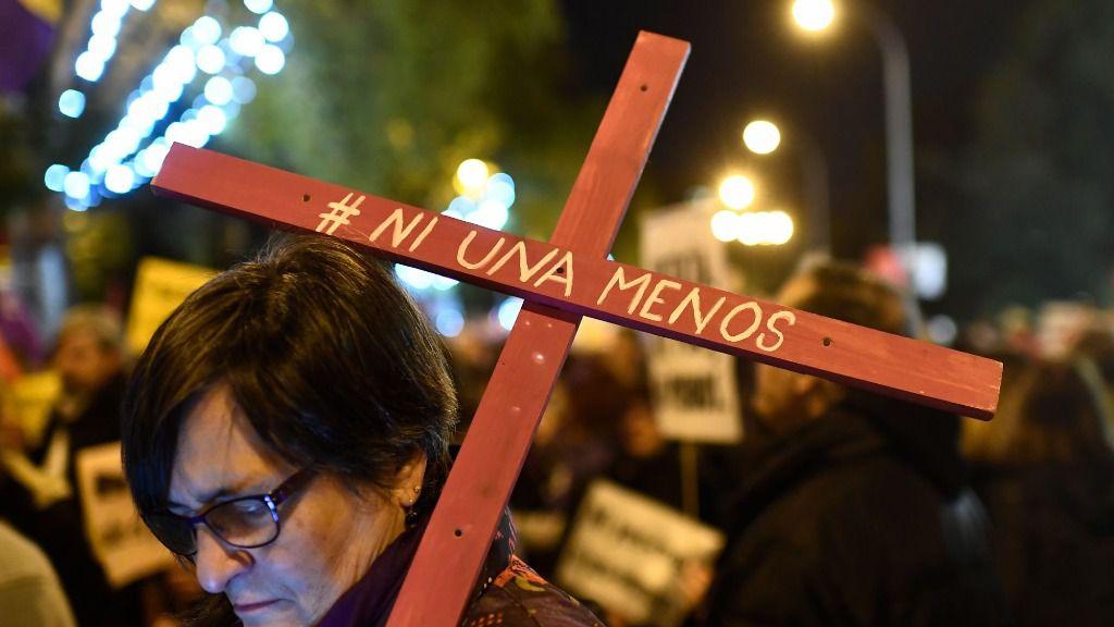 Manifestaciones contra la violencia machista