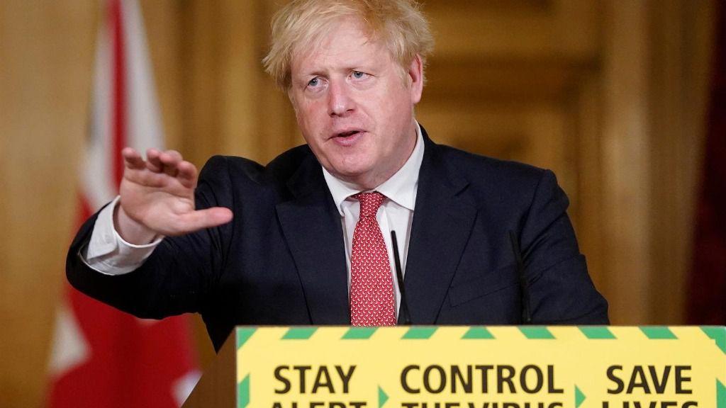 Conferencia de Boris Johnson sobre coronavirus