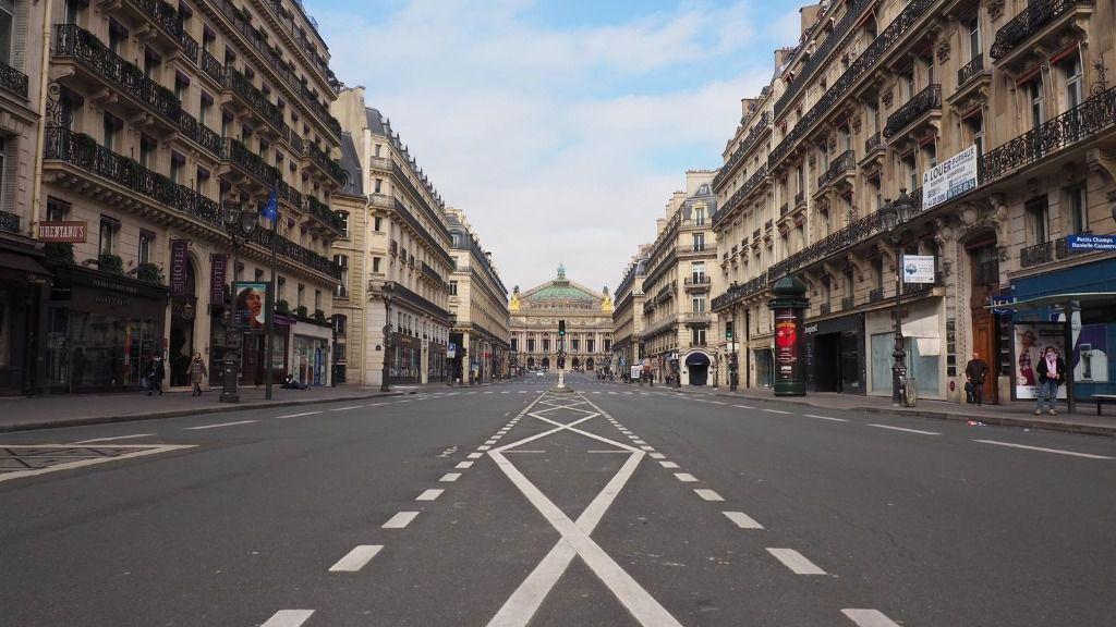 Avenida de la Ópera de París
