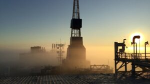 Plataforma petrolera petroleo