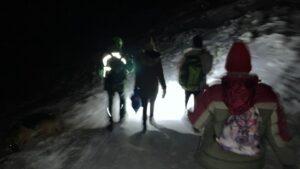 Rescatados cinco jóvenes en Navacerrada con síntomas de hipotermia