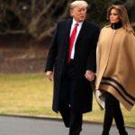 El presidente de Estados Unidos, Donald Trump, y la primera dama, Melania Trump, se disponen a pasar un fin de semana en su resort de Mar-a-Lago