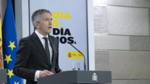 El ministro de Interior, Fernando Grande-Marlaska