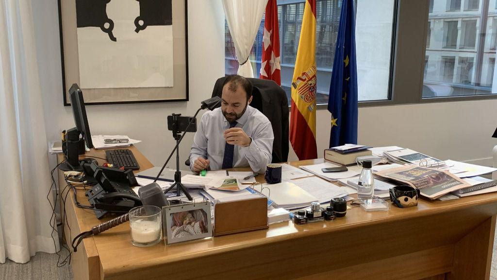Manuel Giménez, en la jornada Los grandes retos del futuro postcovid-19