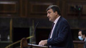 El portavoz del PNV en el Congreso de los Diputados, Aitor Esteban, en una imagen de archivo