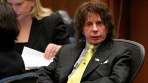 El productor musical Phil Spector