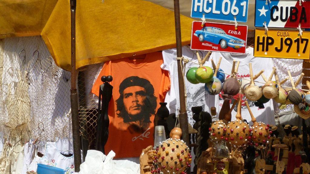 Cuba La Habana Che Guevara tienda