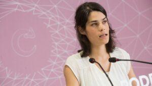Isabel Serra, Parlamentaria de Podemos de la Comunidad de Madrid