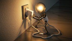 Factura luz bombilla electricas