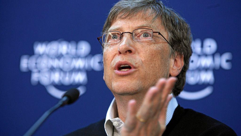 Bill Gates, fundador de Microsoft