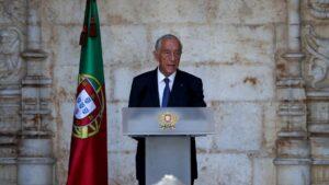 El presidente de Portugal, Marcelo Rebelo de Sousa