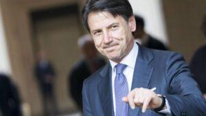 El primer ministro de Italia, Giuseppe Conte