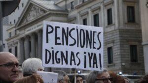 Manifestación Ley Mordaza y Pensiones