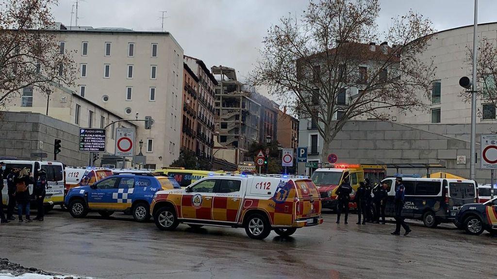Explosión en la Calle Toledo de Madrid