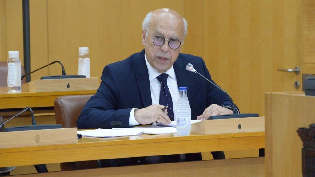 El consejero de Sanidad de Ceuta, Javier Guerrero
