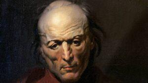 El cuadro El hombre melancólico, de Théodore Géricault