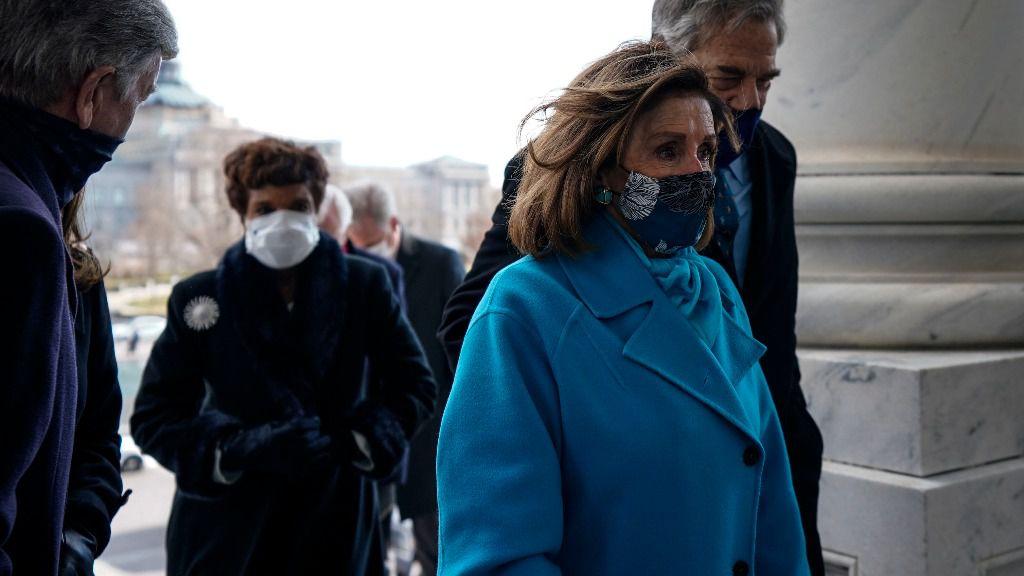 La presidenta de la Cámara de Representantes de Estados Unidos, Nancy Pelosi