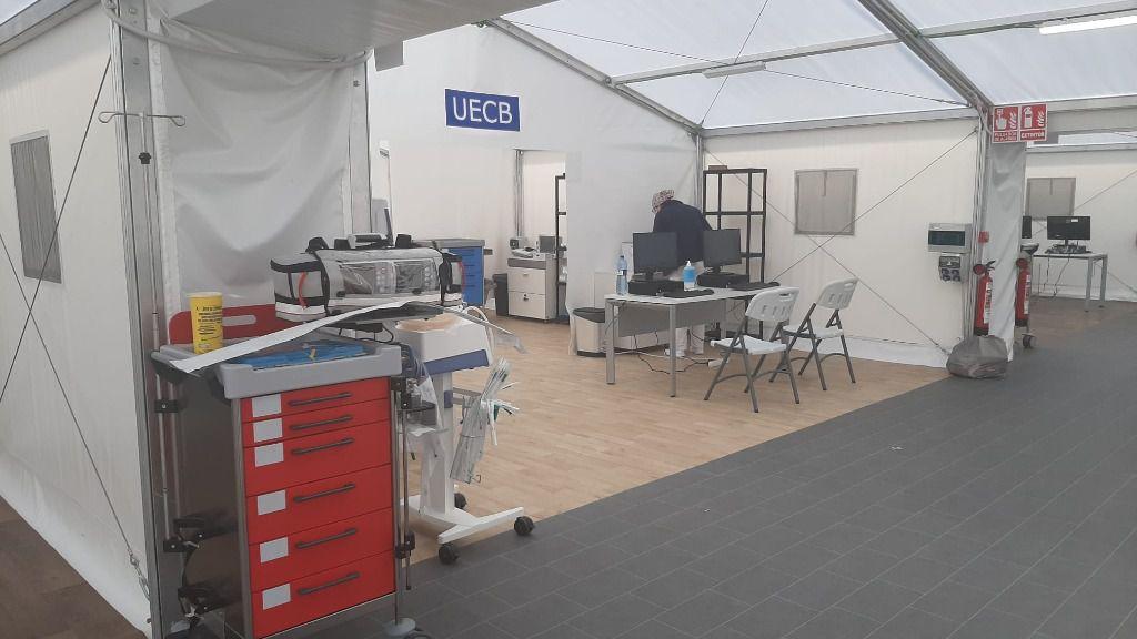 Hospital de campaña de la provincia de Valencia