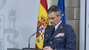 El jefe del Estado Mayor de la Defensa, Miguel Ángel Villarroya