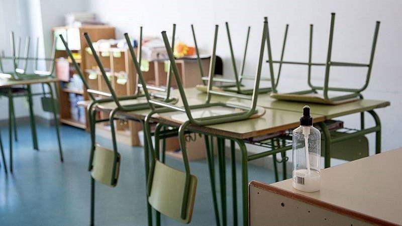 Foto de archivo de un aula, clase o colegio