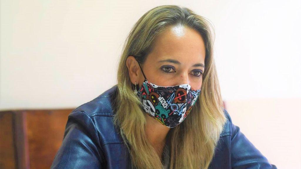 La consejera de Educación del Cabildo de La Palma, Susana Machín