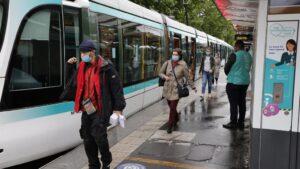 Transporte público en París