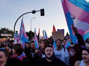 Banderas trans