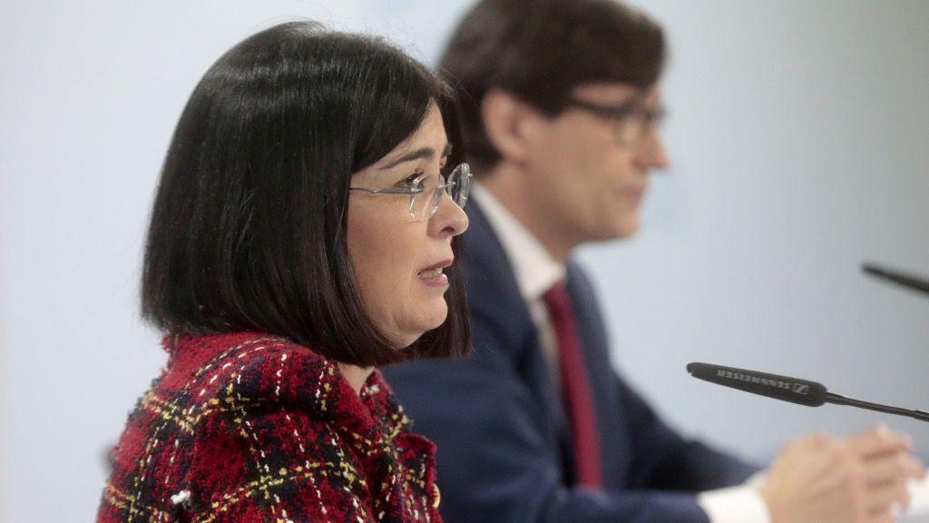 Carolina Darias y Salvador Illa