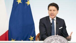 El primer ministro italiano, Giusseppe Conte