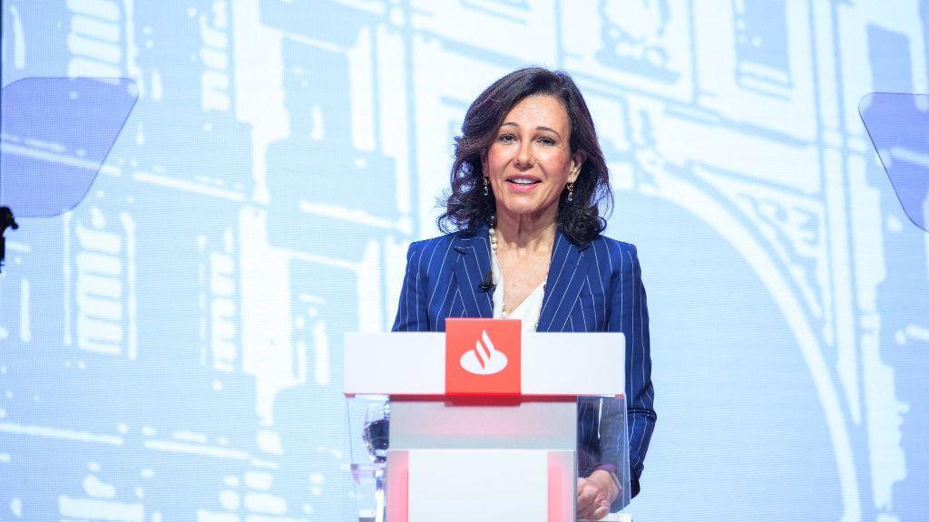 La presidenta de Banco Santander, Ana Botín
