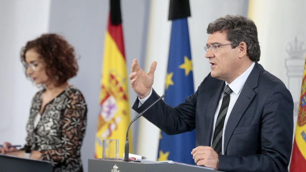 José Luis Escrivá y María Jesús Montero