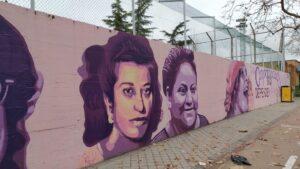 Más de 20.000 firmas piden que no se borre el mural feminista de Ciudad Lineal