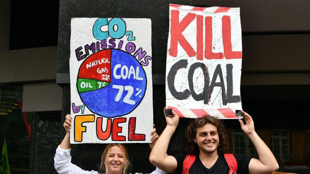 Protestas contra el cambio climático en Australia