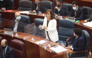 La diputada y portavoz adjunta de Más Madrid en la Comunidad de Madrid, Mónica García Gómez