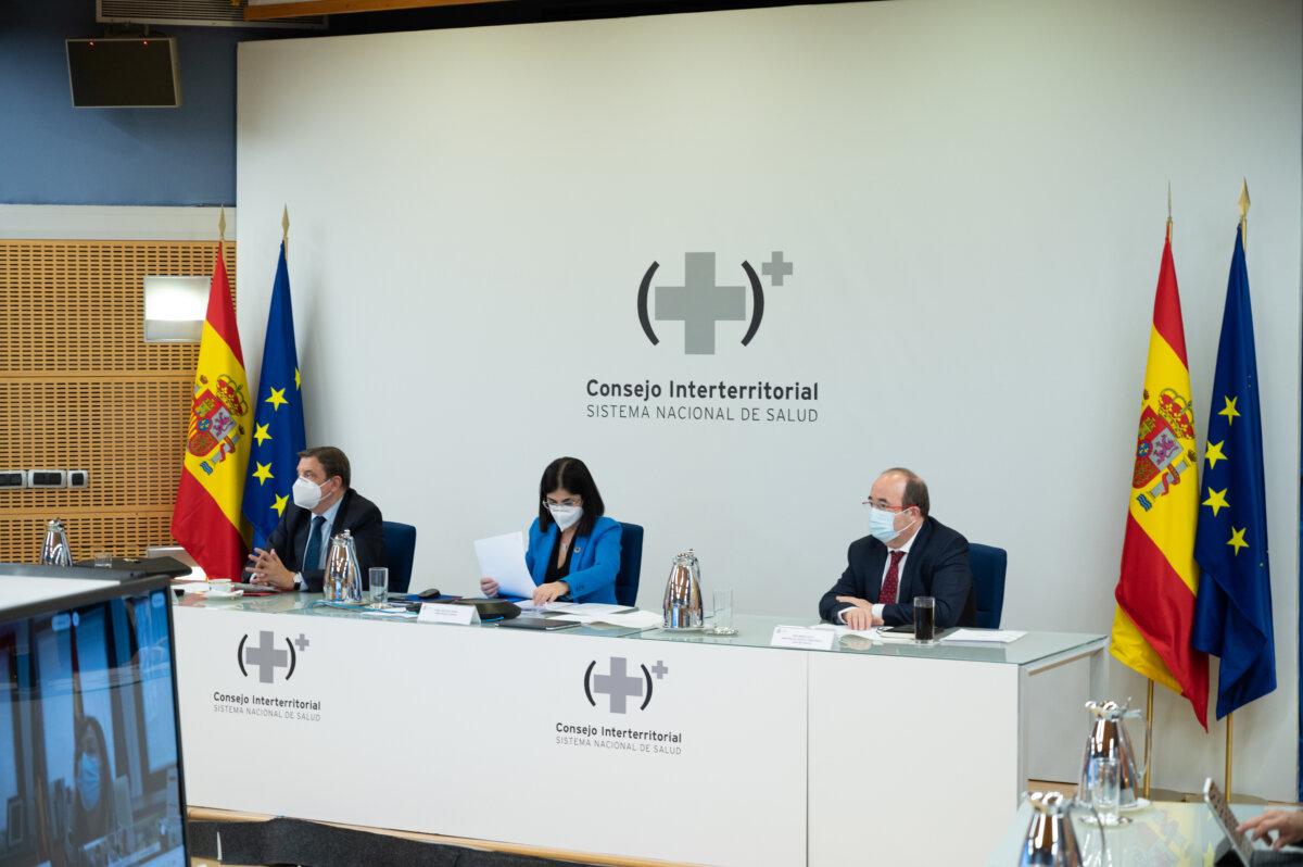 Luis Planas, Carolina Darias y Miquel Iceta