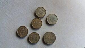 Pesetas, monedas antiguas, monedas de cien, monedas de quinientas - EUROPA PRESS